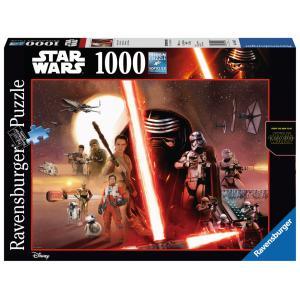Ravensburger - 19549 - Puzzle 1000 pièces - Le Réveil de la Force / Star Wars VII (300222)