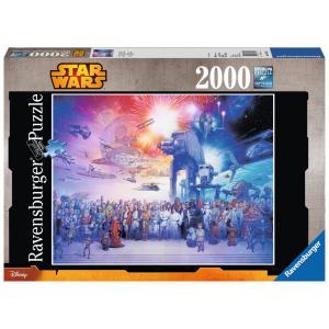 Ravensburger - 16701 - Puzzles 2000 pièces La saga star wars / Star Wars (300226)