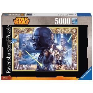 Ravensburger - 17431 - Puzzle 5000 pièces - La saga Star Wars XXL / Star Wars (300228)