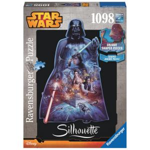 Ravensburger - 16158 - Puzzle silhouettes Collection - Dark Vador / Star Wars 1098 pièces (300230)