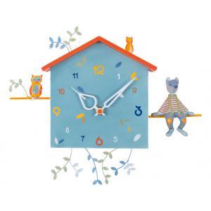 L'oiseau bateau - HOR0008 - Horloge décorative Alabonneheure Le Loup (302824)