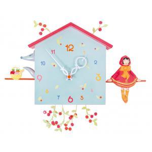 L'oiseau bateau - HOR0007 - Horloge décorative Alabonneheure Le chaperon rouge (302826)