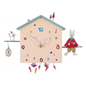 L'oiseau bateau - HOR0005 - Horloge décorative Alabonneheure Le Lapin (302830)
