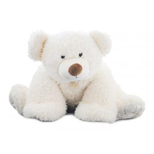 Histoire d'ours - HO2532 - Peluche Pat'ours 90 cm - blanc 90 cm (302870)
