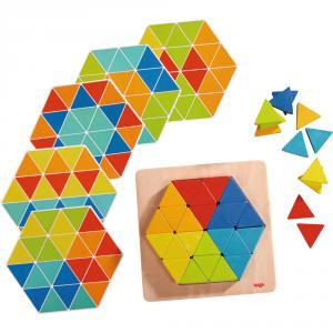 Haba - 301703 - Jeu d'assemblage Triangles magiques (303106)