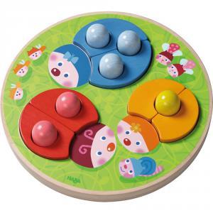 Haba - 301639 - Jeu d'assemblage Coccinelles multicolores (303180)