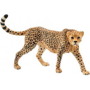 Schleich - 14746 - Figurine Guépard femelle - Dimension : 9,7 cm x 3,9 cm x 6,1 cm (303388)