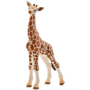 Schleich - 14751 - Figurine Bébé girafe - Dimension : 6,8 cm x 3,5 cm x 11,8 cm (303396)