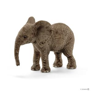 Schleich - 14763 - Figurine Éléphanteau d'Afrique - 3,5 cm x 6,8 cm x 5,5 cm (303408)