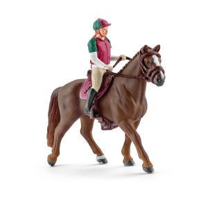 Schleich - 42288 - Figurine Cavalière de concours (303424)