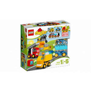 Lego - 10816 - Mes premiers véhicules (303456)