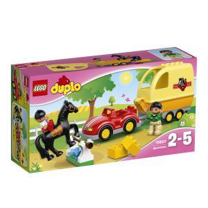 Lego - 10807 - La remorque à chevaux (303512)
