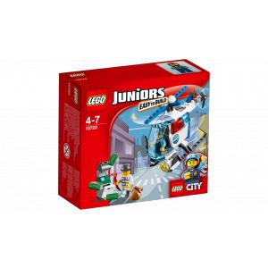 Lego - 10720 - La poursuite avec l'hélicoptère de police (303552)