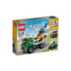 Lego - 31043 - Le transport de l'hélicoptère (303628)