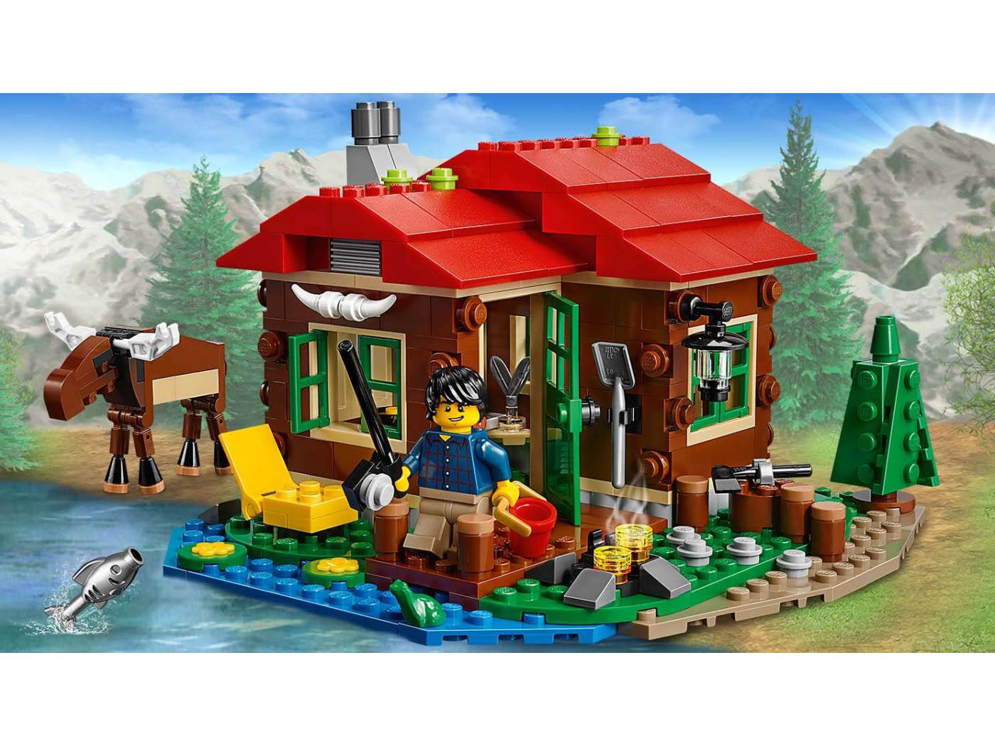lego la cabane au bord du lac. Black Bedroom Furniture Sets. Home Design Ideas