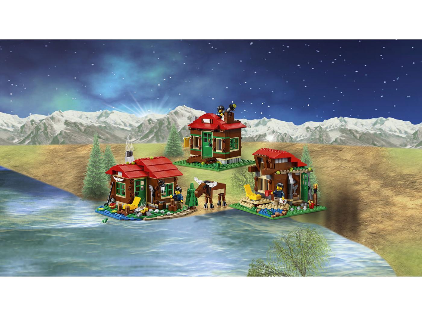 Lego la cabane au bord du lac - La cabane au bord du lac ...