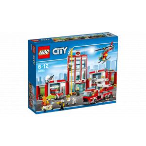 Lego - 60110 - La caserne des pompiers (303652)