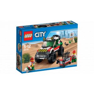 Lego - 60115 - Le 4x4 tout-terrain (303658)