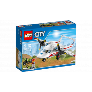 Lego - 60116 - L'avion de secours (303660)