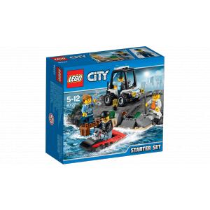 Lego - 60127 - L'ensemble de démarrage de la prison en haute mer (303670)