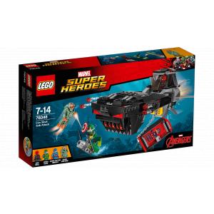 Lego - 76048 - L'attaque en sous-marin d'Iron Skull (303736)