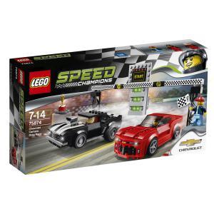 Lego - 75874 - La course des Chevrolet Camaro (303758)
