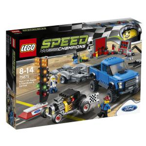 Lego - 75875 - Ford F-150 Raptor et le bolide Ford Modèle A (303760)