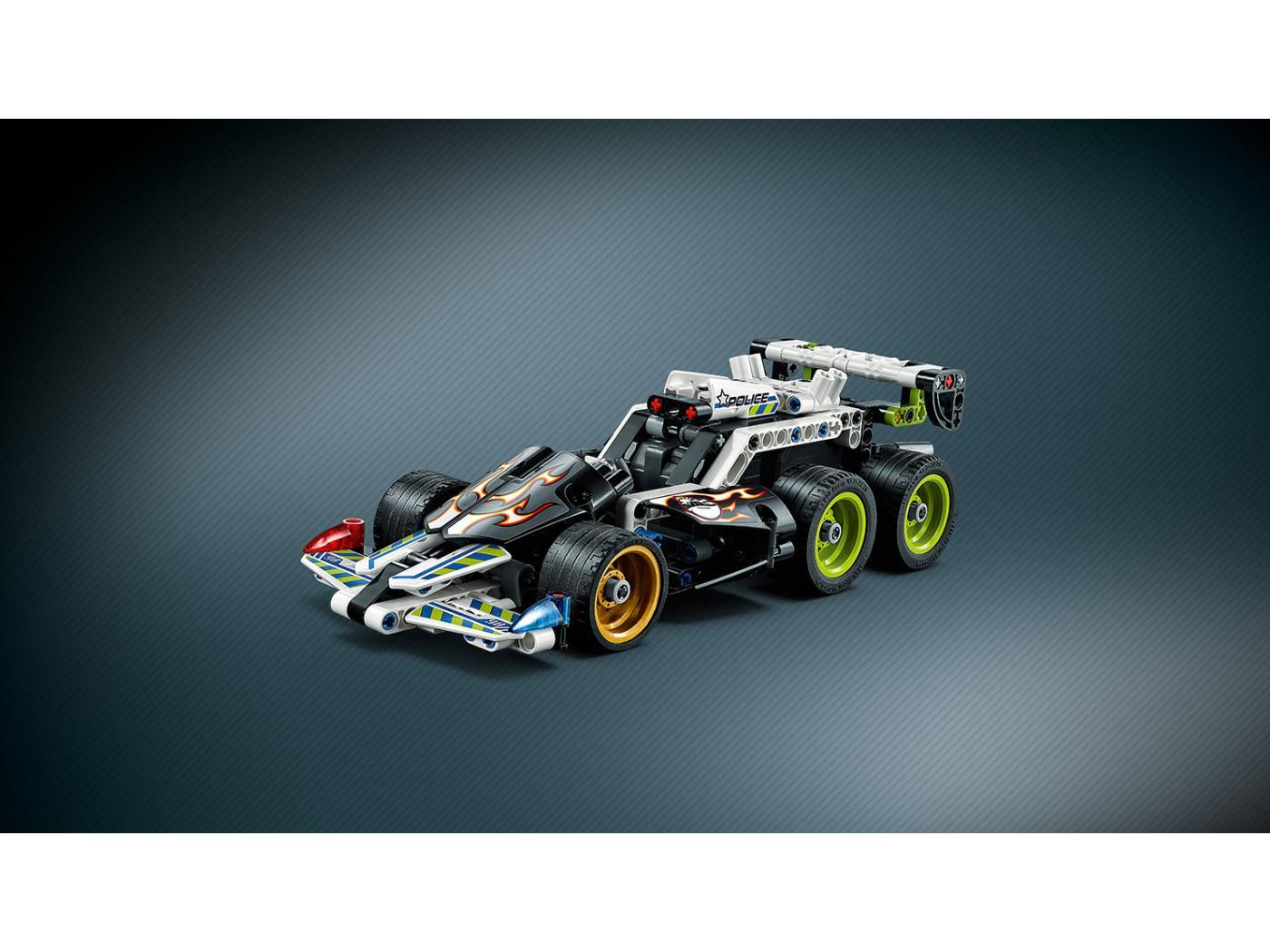 Lego la voiture du fuyard - Lego ninjago voiture ...