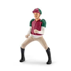 Schleich - 42284 - Figurine Cavalière de concours, magenta (303968)