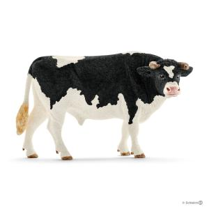 Schleich - 13796 - Figurine Taureau Holstein - 6,6 cm x 14 cm x 7,8 cm (303974)