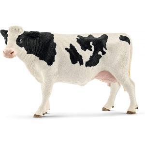 Schleich - 13797 - Figurine Vache Holstein - 6,4 cm x 12,6 cm x 8,2 cm (303976)