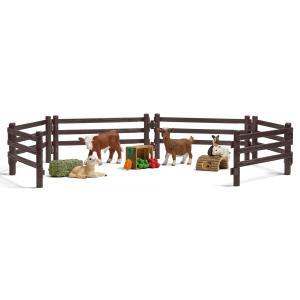 Schleich - 21052 - Kit de jeu avec animaux de la ferme (304088)
