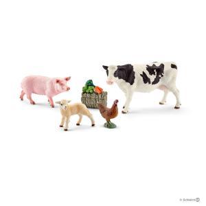 Schleich - 41424 - Figurines Mes premiers animaux de la ferme (304094)