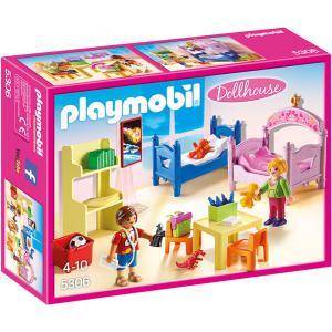 Playmobil - 5306 - Chambre d'enfants avec lits superposés (304210)