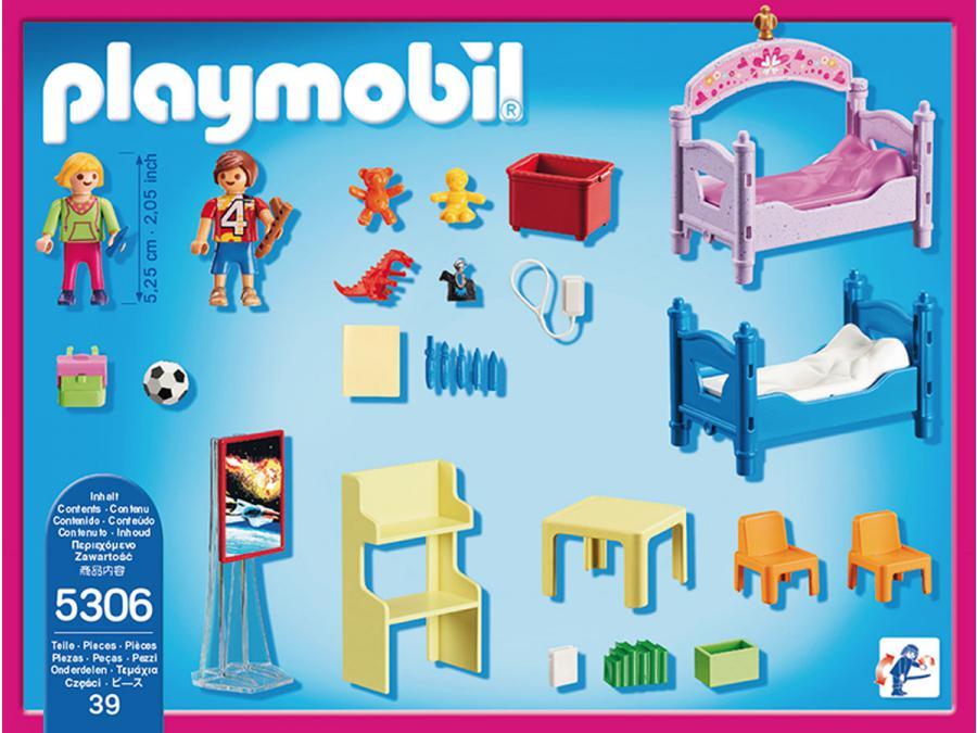 Playmobil Chambre D Enfants Avec Lits Superpos 233 S