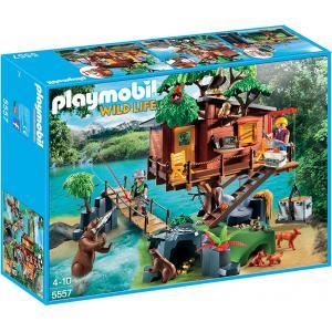 Playmobil - 5557 - Cabane des aventuriers dans les arbres (304232)