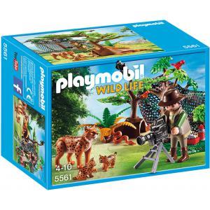 Playmobil - 5561 - Explorateur et famille de lynx (304240)