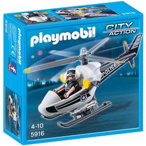 Playmobil - 5916 - Hélicoptère monoplace de police (304248)