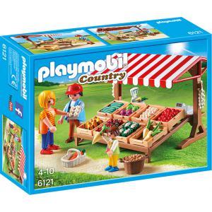 Playmobil - 6121 - Marchand avec étal de légumes (304272)