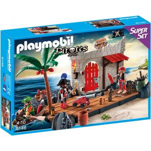 Playmobil - 6146 - SuperSet Ilôt des pirates (304294)