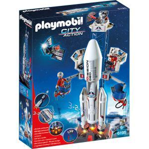 Playmobil - 6195 - Base de lancement avec fusée (304346)