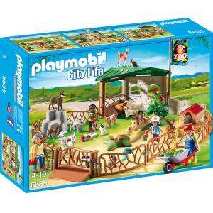 Playmobil - 6635 - Parc animalier avec visiteurs (304376)
