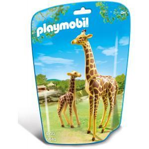 Playmobil - 6640 - Girafe et girafon (304392)
