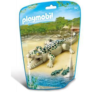 Playmobil - 6644 - Alligator avec bébés (304408)