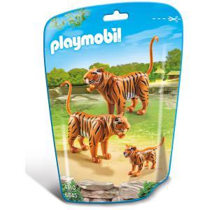 Playmobil - 6645 - Couple de tigres avec bébé (304412)