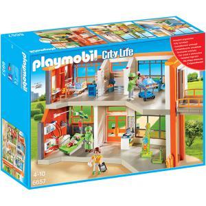 Playmobil - 6657 - Hôpital pédiatrique aménagé (304460)