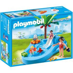 Playmobil - 6673 - Bassin pour bébés et mini-toboggan (304480)
