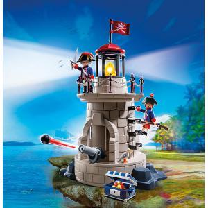Playmobil - 6680 - Phare lumineux avec soldats (304494)