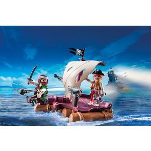 Playmobil - 6682 - Radeau avec pirates des ténèbres (304498)