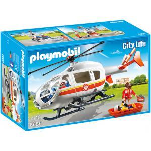 Playmobil - 6686 - Hélicoptère médical (304506)